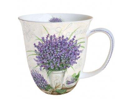 Hrnek 0.4 L Lavender Scene Cream