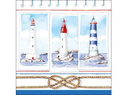 Napkin 33 Lighthouses