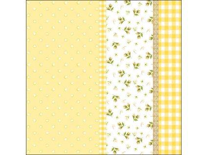 Napkin 33 Lilly Yellow
