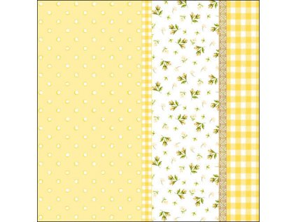Napkin 33 Lilly Yellow