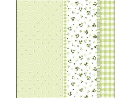 Napkin 33 Lilly Green