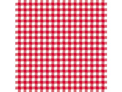 Napkin 33 Vichy Red