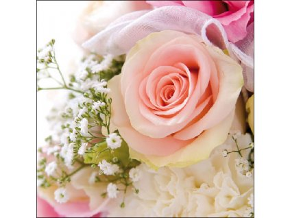 Napkin 33 Rose Romance