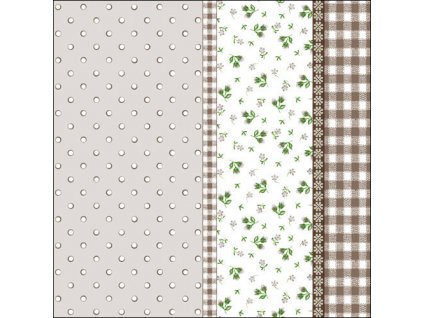 Napkin 33 Lilly Taupe
