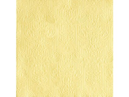 Napkin 33 Elegance Light Yellow