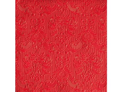 Napkin 33 Elegance Red