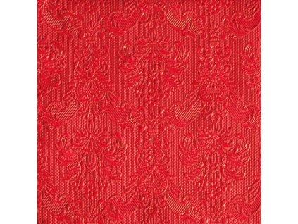 Napkin 33 Elegance Red