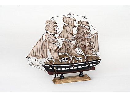 Loď - BRIGANTINE