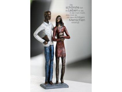 Soška muž a žena