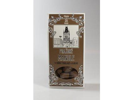 Pražské mandle v krabičce
