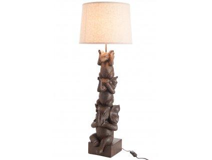 Lampa sloní trio