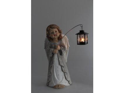 anděl s lucernou