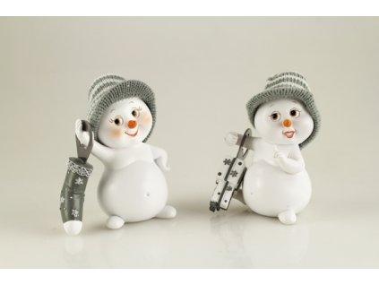 sněhulák s otvírákem