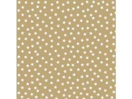 Ubrousky 33 Stars And Trees Gold Neg.