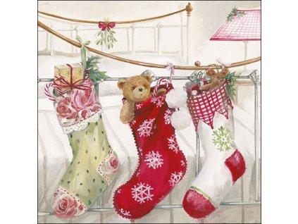 Ubrousky 33 Christmas Stockings