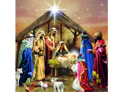 Ubrousky 33 Nativity Collage