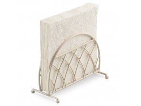 Napkin Holder Standing Lattice Cream