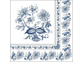 Napkin 33 Blue Onion
