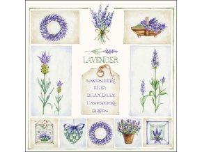 Napkin 33 Lavender's