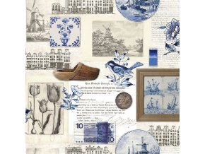 Napkin 33 Authentic Holland