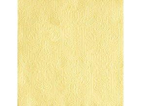 Napkin 33 Elegance Light Yellow