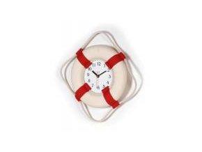 Záchranný kruh s hodinami