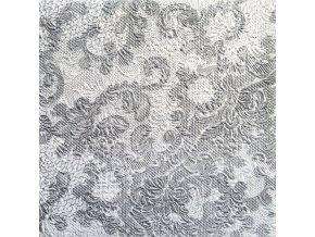 Ubrousky 33 Elegance Lace Silver
