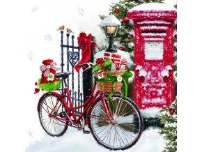 Ubrousky 33 Bike In Snow