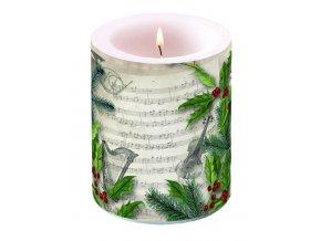 Svíčka velká Christmas Song