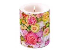 Svíčka dvouplášťová Bed of Roses