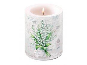 Svíčka dvouplášťová Lily of the Valley